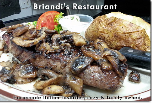 Briandi's Restaurant -Homemade Italian favorites.