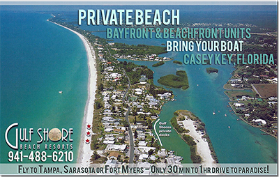 Located on the natural island of Casey Key