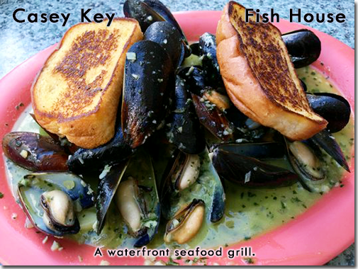 Casey Key Fish House - A waterfront seafood grill.