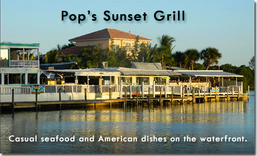 Pops Sunset Grill - Casual seafood and American dishes on the waterfront