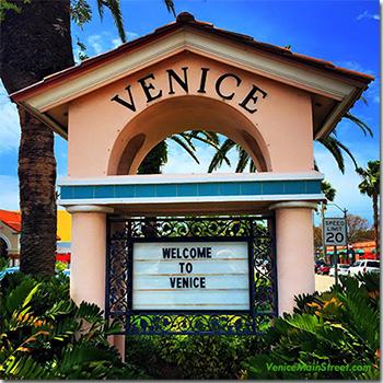 Venice Ave Sign